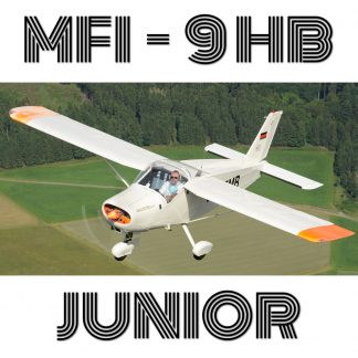 MFI-9HB JUNIOR - PLANS AND INFORMATION SET FOR HOMEBUILD (Bölkow Bo-208, Malmö-SAAB)